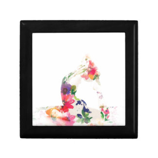Floral Yoga Pose Series Gift Box