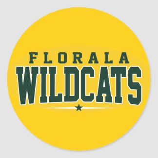 Florala High School; Wildcats Sticker
