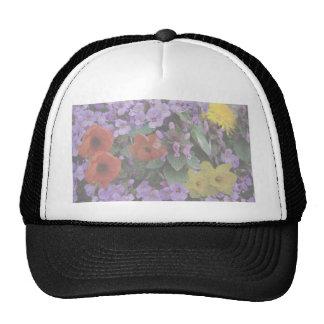 floralBouquet-opaque Mesh Hats