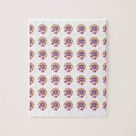 Florals Jigsaw Puzzle