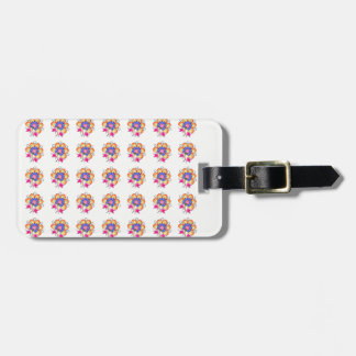 Florals Luggage Tag