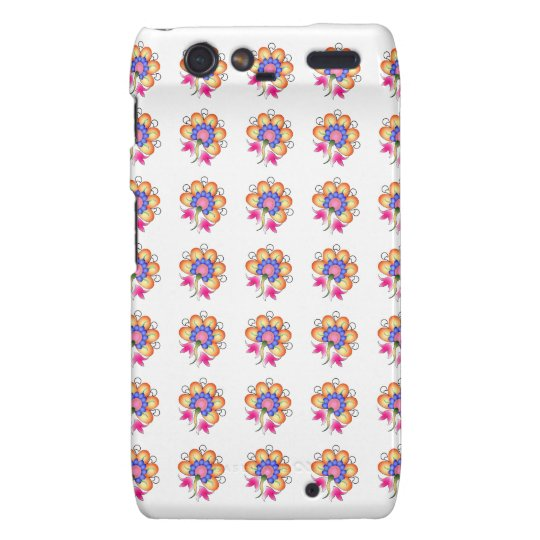 Florals Motorola Droid RAZR Cover