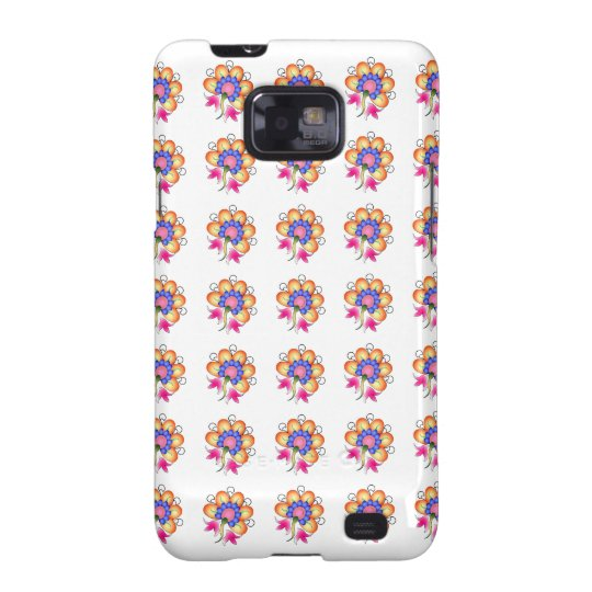 Florals Samsung Galaxy SII Covers
