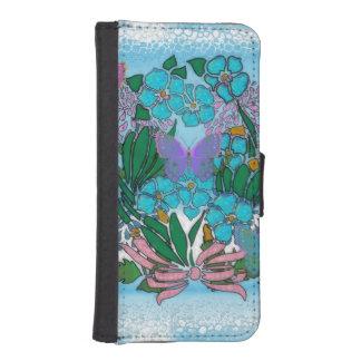Floratopia iPhone SE/5/5s Wallet Case
