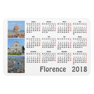Florence 2018 calendar magnet