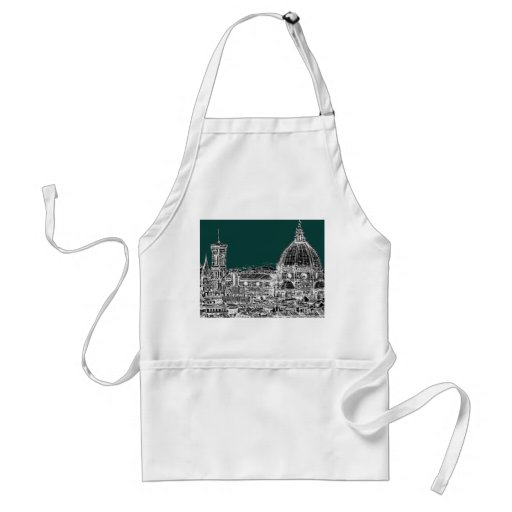 Florence architecture drawing aprons