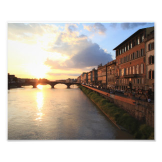 Florence at Sunset Photo Print
