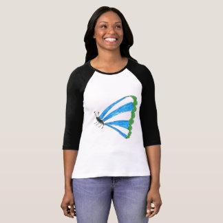 Florence Bella+Canvas 3/4 Sleeve Raglan T-Shirt