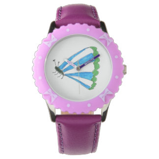 Florence Bezel with Purple Ribbons Watch