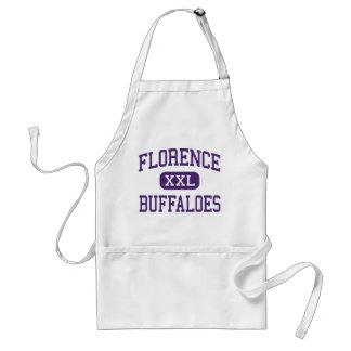 Florence - Buffaloes - High - Florence Texas Adult Apron