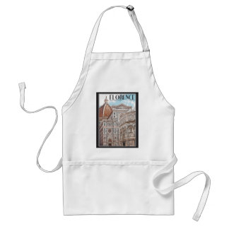 Florence Cathedral Adult Apron