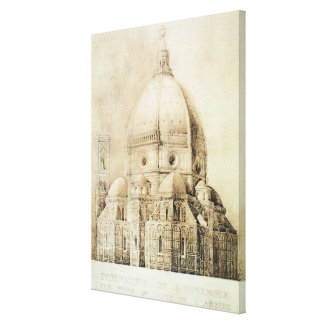 Florence Cathedral from the East, from 'Fragments Canvas Print