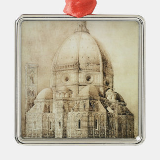 Florence Cathedral from the East, from 'Fragments Metal Ornament