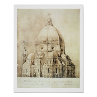 Florence Cathedral from the East, from 'Fragments Poster