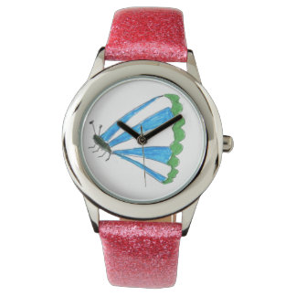 Florence Children's Pink Glitter Watch