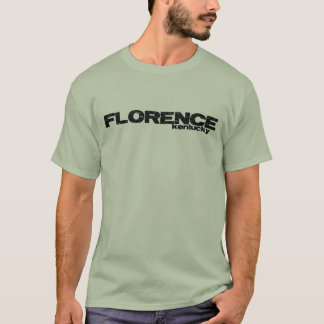 Florence Distressed Design Light T-shirt