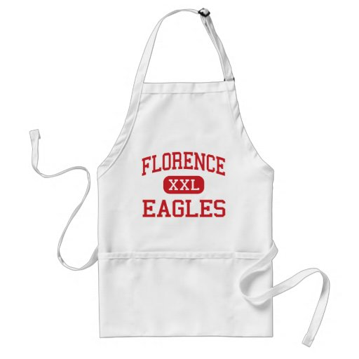 Florence - Eagles - High - Florence Mississippi Apron