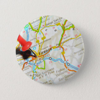 Florence, Firenze, Italy 6 Cm Round Badge
