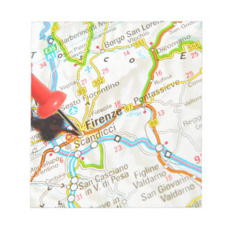 Florence, Firenze, Italy Notepad