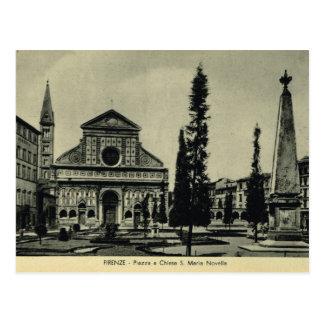 Florence, Firenze, Santa Maria Novella Postcard