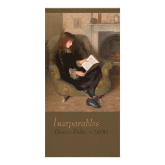 Florence Fuller Inseparables CC0301 Bookmark Personalised Photo Card