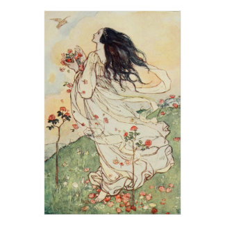 Florence Harrison - A Birthday Poster