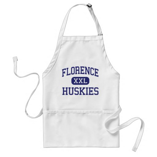Florence - Huskies - High - Florence Colorado Apron