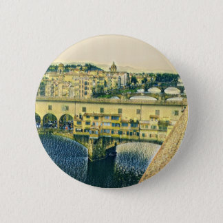 Florence in Art 6 Cm Round Badge
