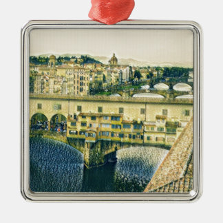 Florence in Art Metal Ornament
