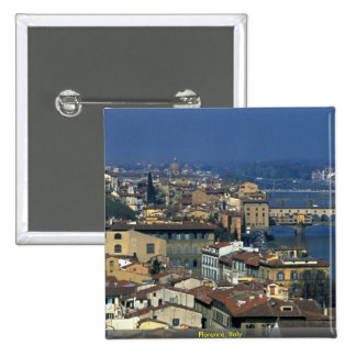 Florence, Italy 15 Cm Square Badge