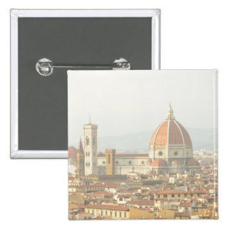 Florence Italy 15 Cm Square Badge