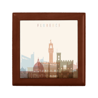 Florence, Italy | City Skyline Gift Box
