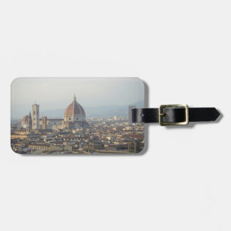Florence Italy Cityscape Luggage Tag