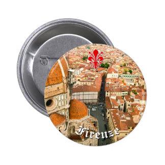 Florence, Italy (Duomo) 6 Cm Round Badge