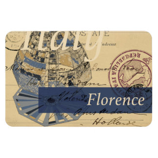 Florence Italy Duomo Antique Magnet