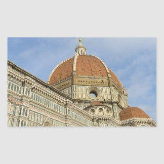 Florence Italy Duomo Rectangular Sticker