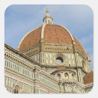 Florence Italy Duomo Square Sticker