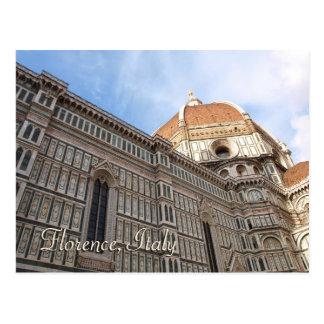 Florence Italy Duomo Travel Photo Postcard