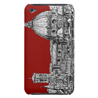 Florence Italy in red Barely There iPod Case