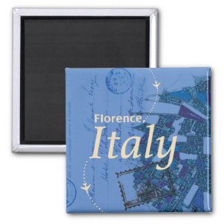 Florence Italy Map Traveling Magnet