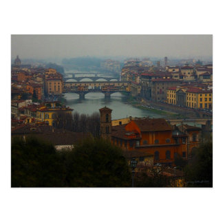 Florence Italy Post Card