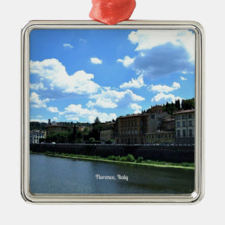 Florence, Italy skyline Metal Ornament