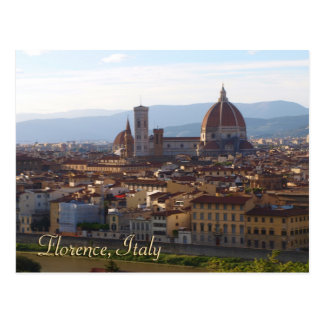 Florence Italy Travel Keepsake Gift Postcard