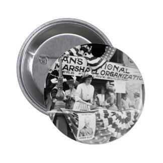 Florence Jaffray Hurst Daisy Harriman Suffragette 6 Cm Round Badge