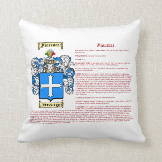 Florence (meaning) cushion