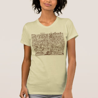 Florence, Medieval Woodcut T-Shirt
