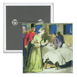 Florence Nightingale (1820-1910) from 'Peeps into 15 Cm Square Badge