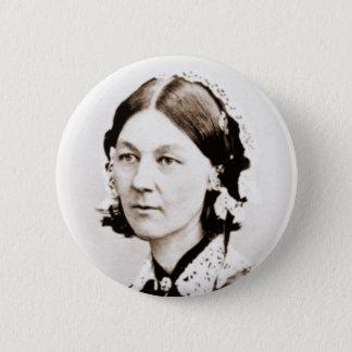 Florence Nightingale 6 Cm Round Badge