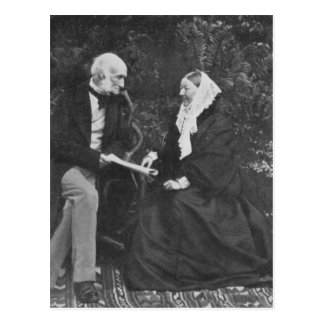Florence Nightingale and Sir Harry Verney Postcard