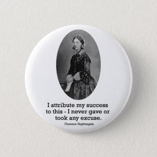 Florence Nightingale Button